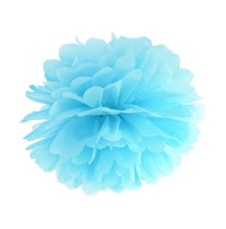 Pom pom - himmelsblå 35 cm