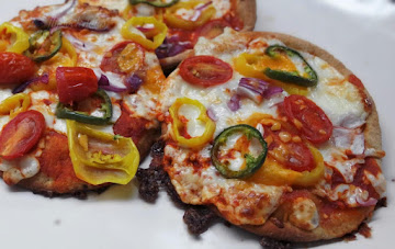 Fiesta Mini Pizza - Reduced Carb Recipe