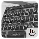 Gentle Silver Knight Keyboard Theme icon