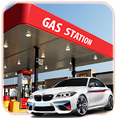 Gas Station Parking Simulator 3D