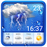 Weather forecast app for Android phone