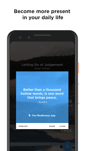 Mindfulness App screenshot 4