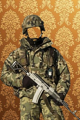Army Fashion Photo Maker