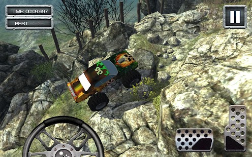 GraveDigger 4x4 Hill Climb 3D- screenshot thumbnail