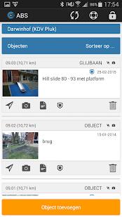 ABS app - náhled