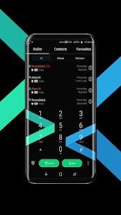 Samsung S8 Noval Black EMUI 5 Theme - náhled