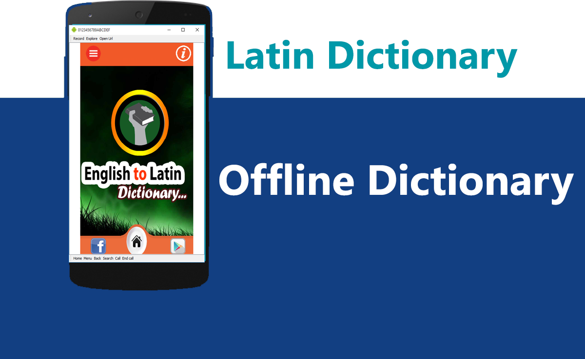 Latin English Latin Dictionary 2
