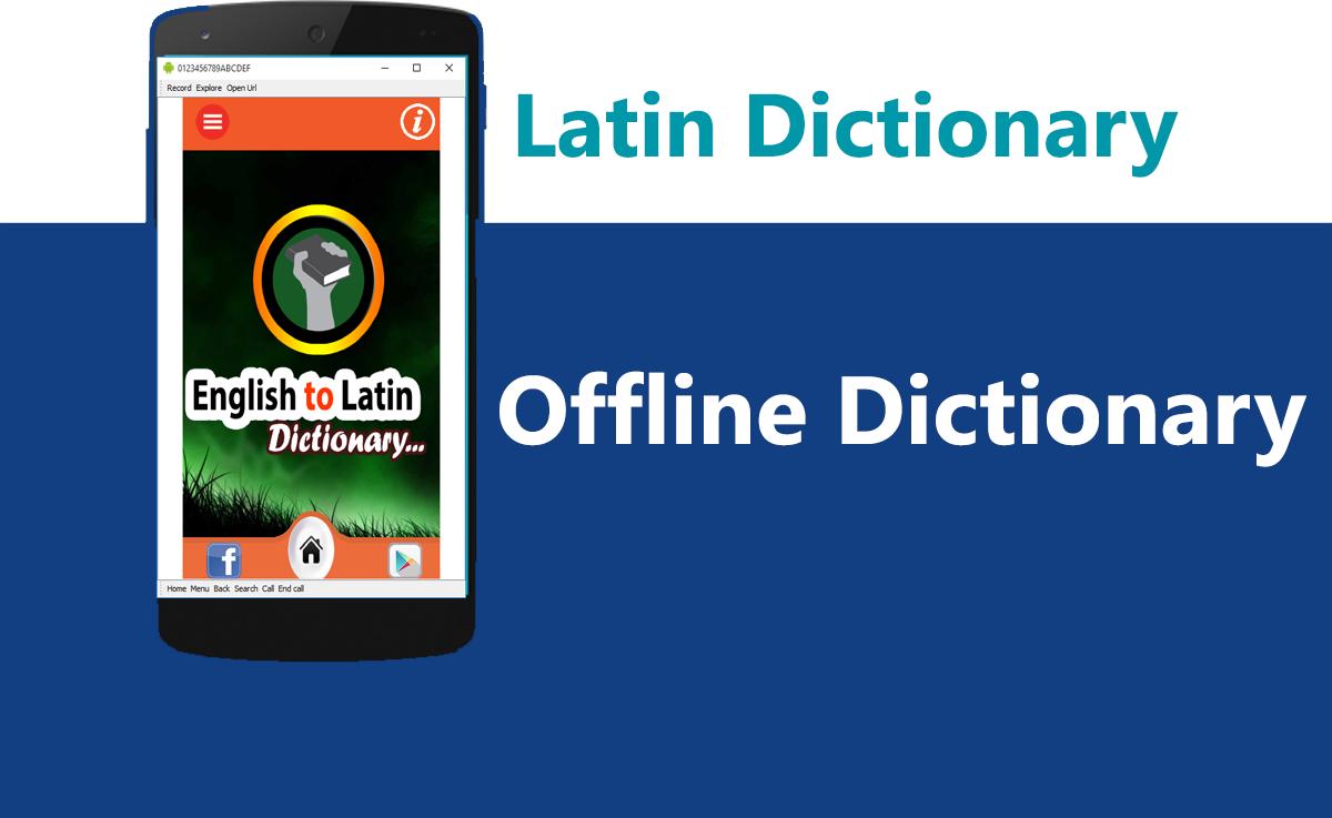 Latin English Dict 4
