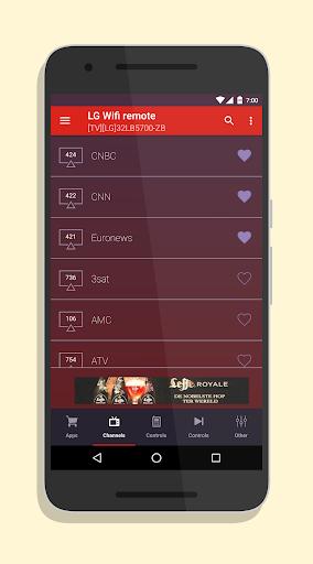 Smart TV Remote for LG SmartTV 2.2.2 screenshots 2