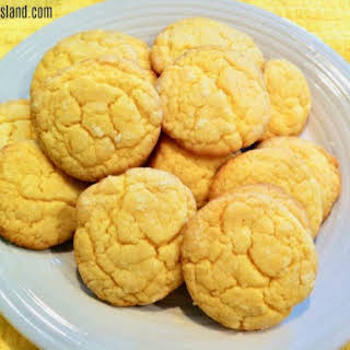Simple Lemon Cookies.