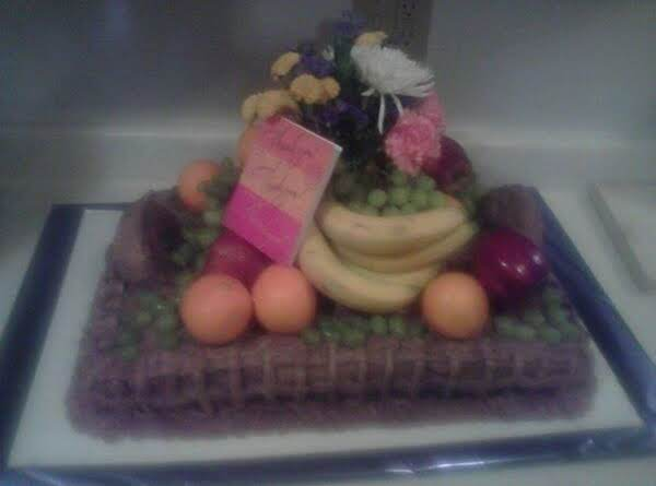 Fruit Basket Cake Recipe