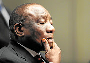 President Cyril Ramaphosa is adamant that he did not know his campaign donors despite  leaked emails. /  ESA ALEXANDER