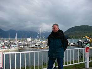 Photo: Me at Haines Harbor.