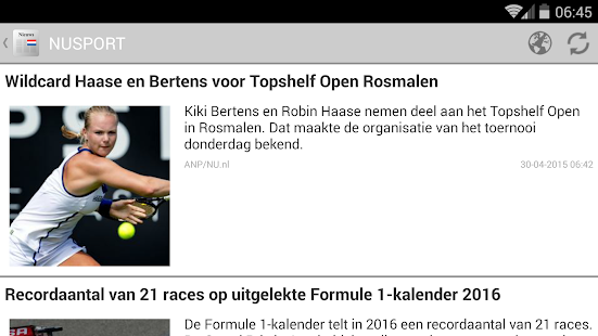 Kranten en tijdschriften NL - screenshot thumbnail