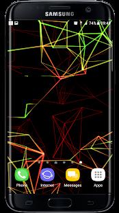 [Neon Particles 3D Live Wallpaper] Screenshot 6