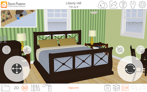 Room Planner Home Design: miniatura de captura de pantalla