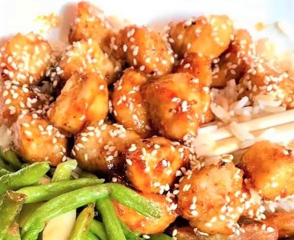 Oven-baked Honey Sesame Chicken