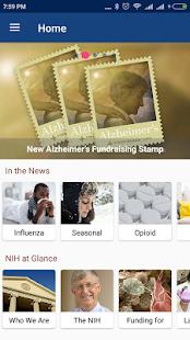 NIH App - náhled