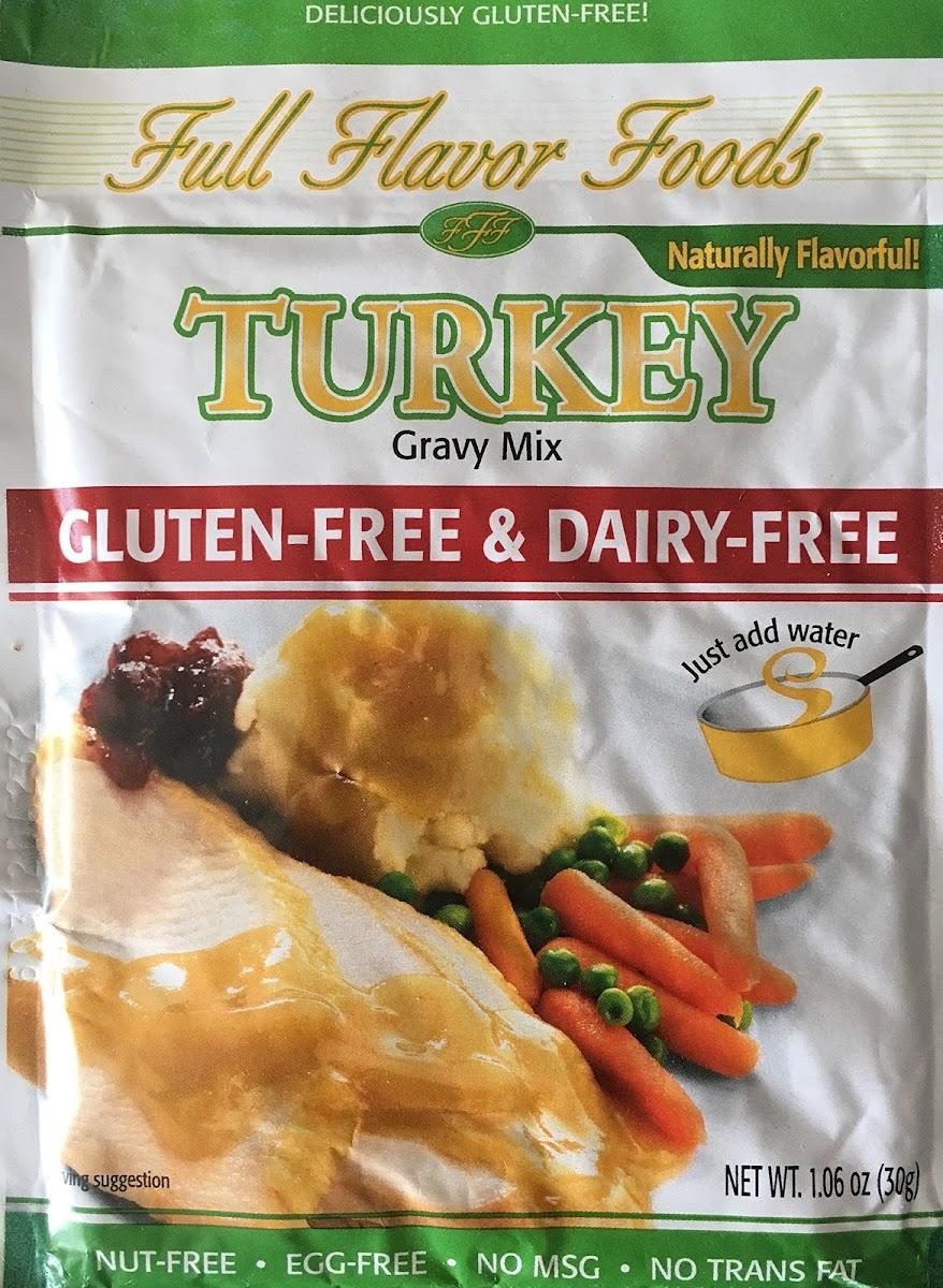 Turkey Gravy Mix - Gluten & Dairy Free