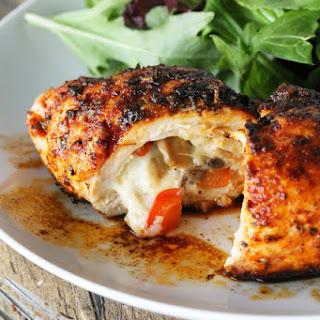 Cajun Stuffed Chicken Breast.