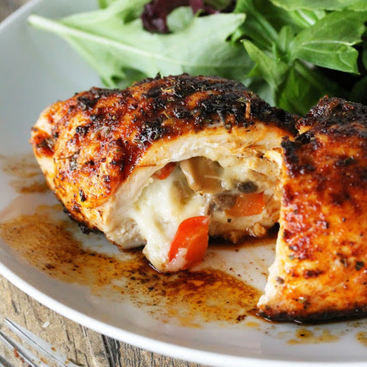Cajun Stuffed Chicken Breast Recipe