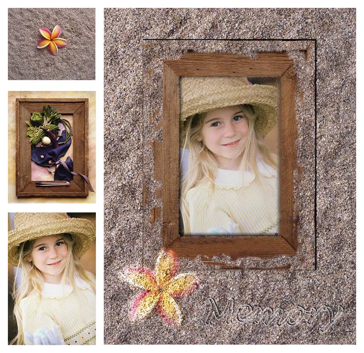 Sand Girl Memory