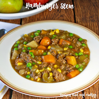 Hamburger Stew With Potatoes Recipes.
