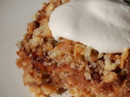 Evelyn's Apple Brown Betty Recipe