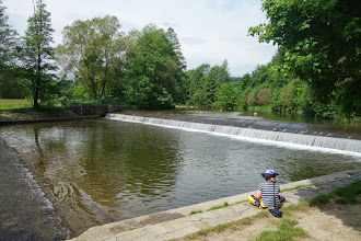 Photo: splav na řece Moravice
