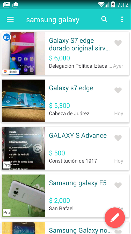 Segundamano.mx- screenshot