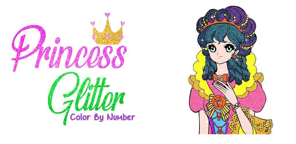 Descargar Princesa Glitter Color por número - Colorante para adultos ...