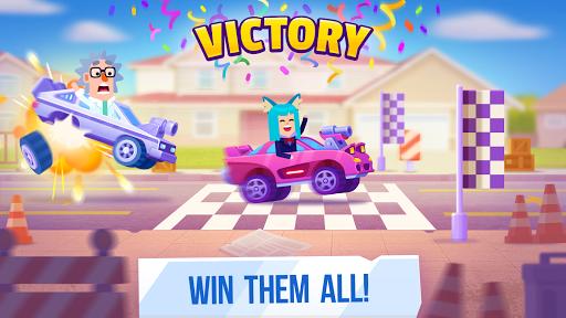 Chiến thắng mọi đối thủ trong game Racemasters