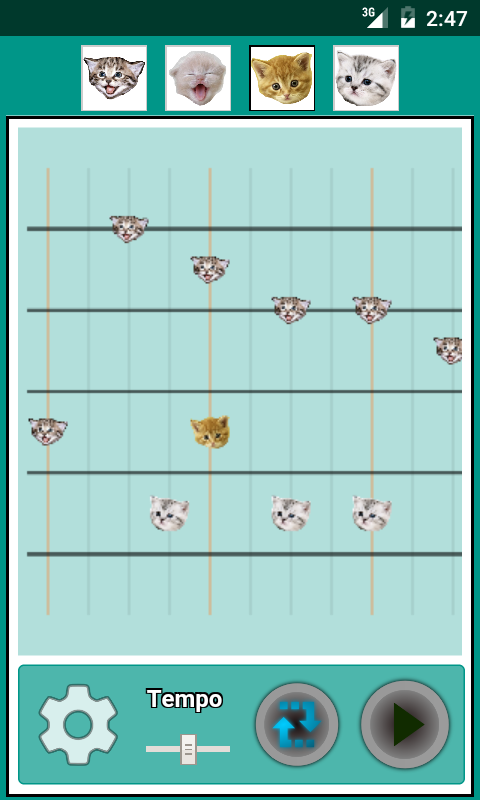 Musical Kittens- screenshot