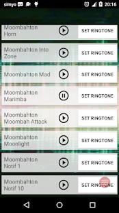 Moombahton鈴聲和鬧鐘 Screenshot