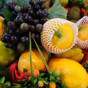 Assorted Fruits by Adam Ling - Food & Drink Fruits & Vegetables ( orange, fruit, grapes, pwcfruit, mango )