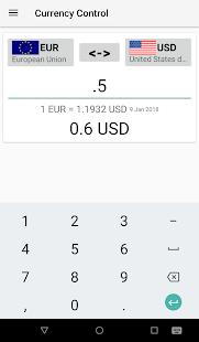 Currency Control-THE Converter - náhled