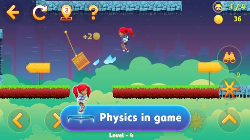 Télécharger Gratuit Tricky Liza: 2D Platformer Adventure Game APK MOD (Astuce) screenshots 2