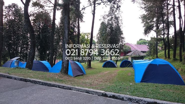 Wana  Villa  Hambalang Sentul Tempat Kemah Family  Kawasan Bogor  Dekat di Area Cisalak - Depok