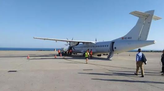 El avión entre Almería y Sevilla comenzará en septiembre a operar los jueves
