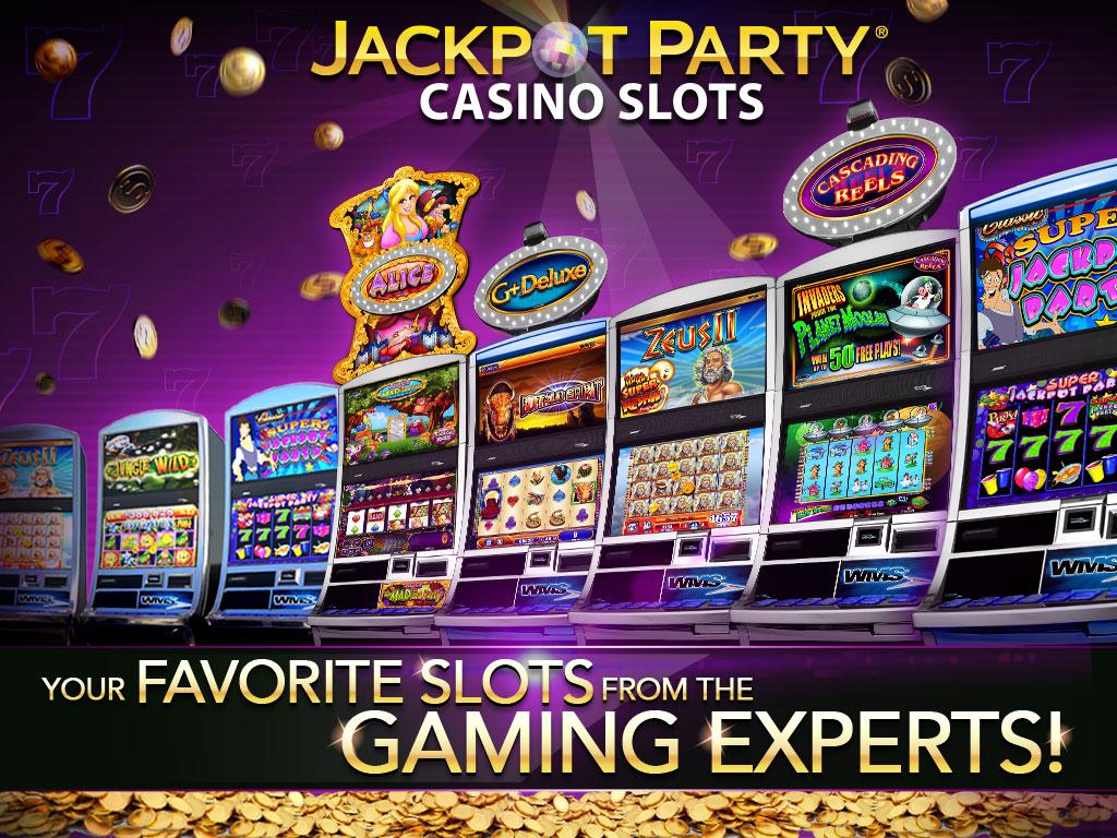 free casino games jackpot party