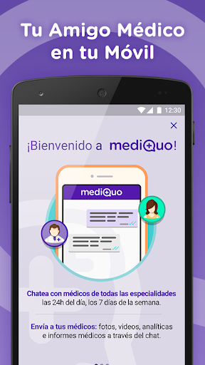 Chat Médico mediQuo - accede a medicina inmediata screenshot for Android