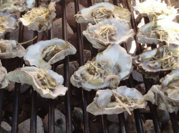 Grilled Oysters With Butter And Wine Recipe