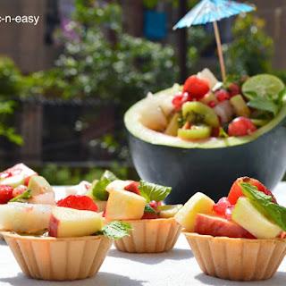 Fruit Chaat Shots