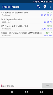 TriMet Tracker Free- screenshot thumbnail