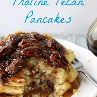 Praline Pecan Pancakes