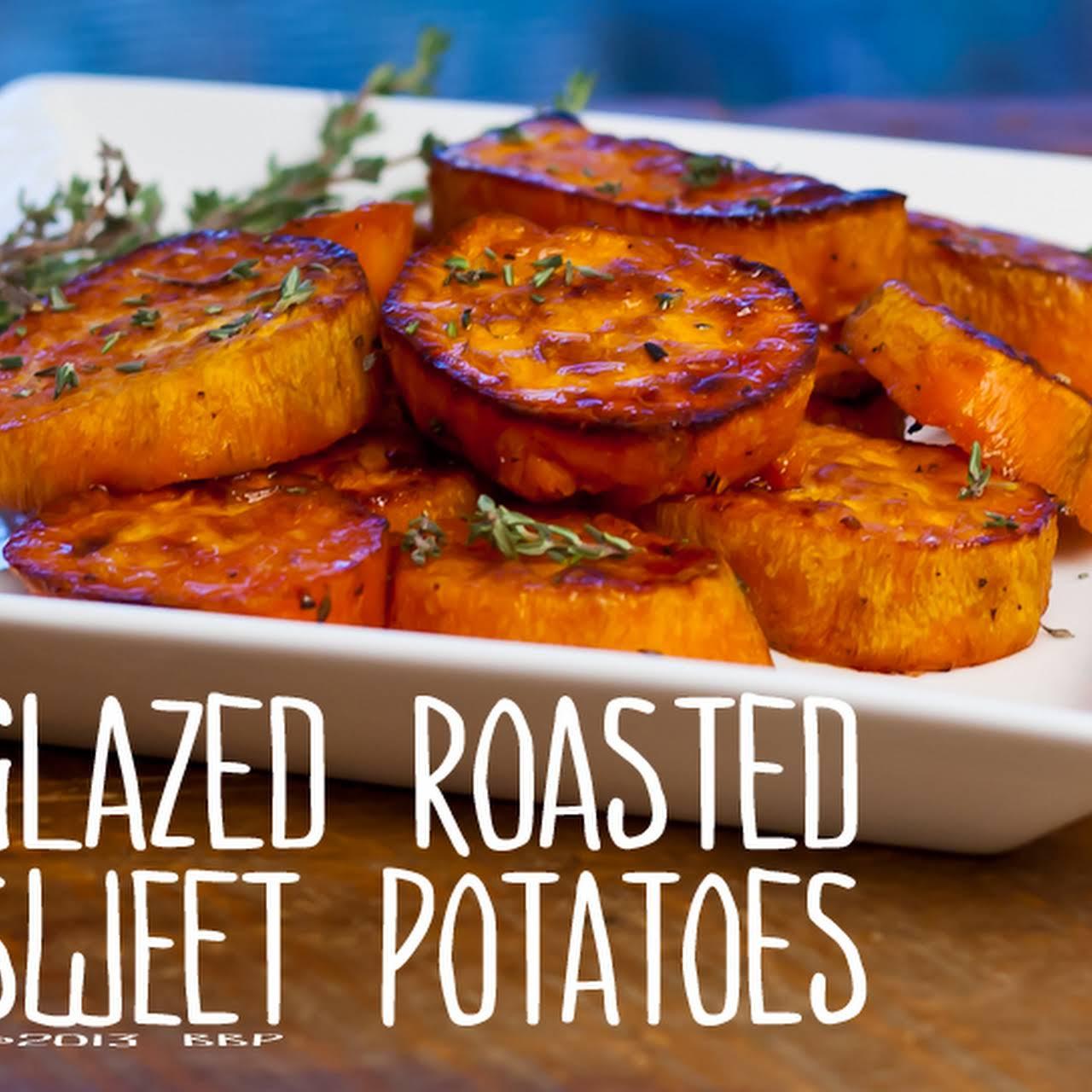 Glazed Roasted Sweet Potatoes