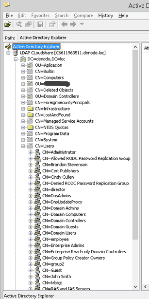 How to configure a VDP database with LDAP authentication