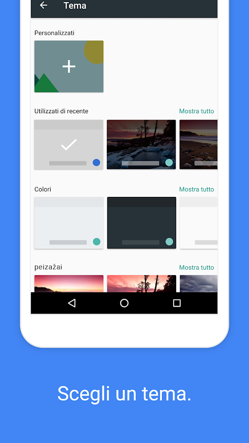 Gboard: la tastiera Google- screenshot
