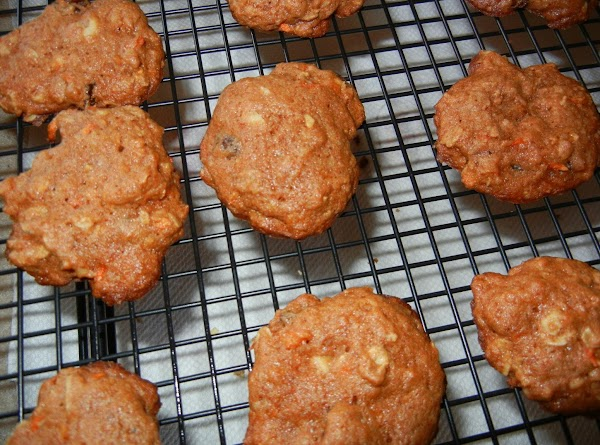 Connie's Carrot Cookies Recipe