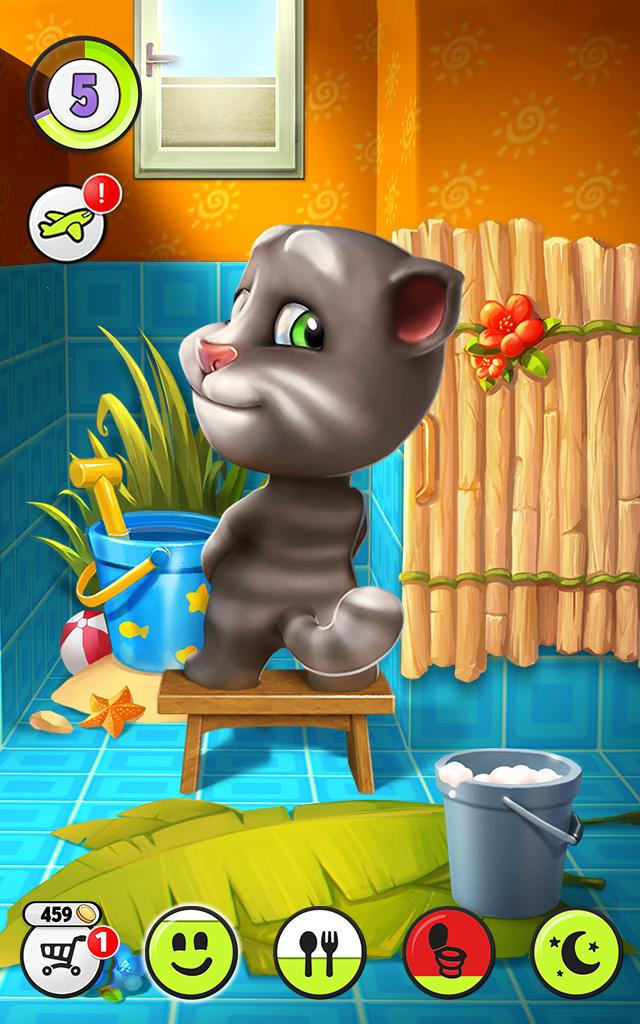 My Talking Tom Mod Apk (Unlimited Coins) 3
